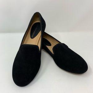 Antonio Melani Black Gigi Loafer Flats, Size 8